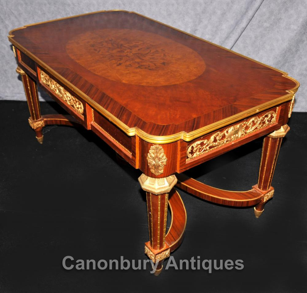 French Outdoor Coffee Table: French Empire Coffee Table Kingwood Ormolu Tables Furniture