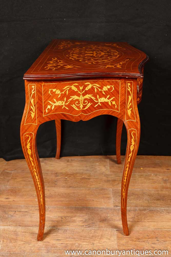 tables furniture french console table empire hall tables marquetry inlay
