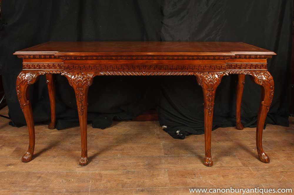 George Ii Mahogany Sideboard Server Buffet Chippendale