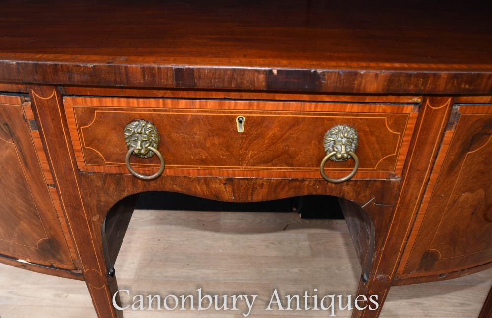 Georgian Mahogany Sideboard Buffet Server 1790