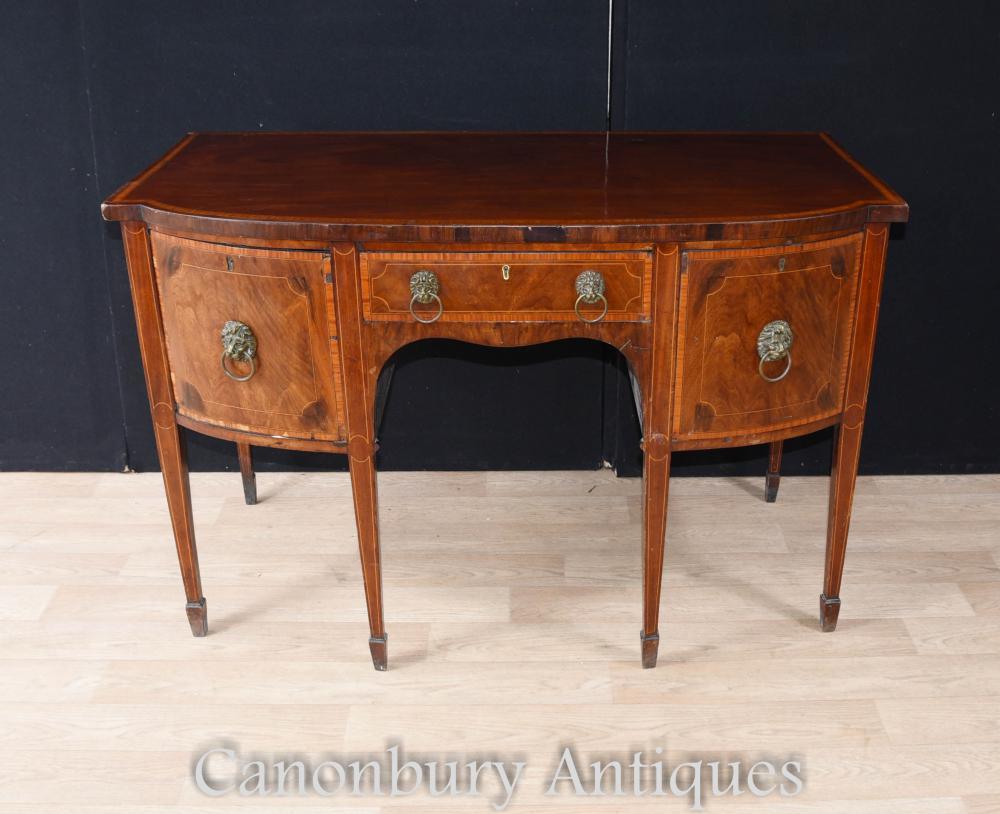 georgian mahogany sideboard buffet server 1790. Black Bedroom Furniture Sets. Home Design Ideas