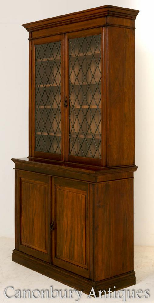 Late victorian mahogany bookcase cabinet 1890 for 1890 kitchen cabinets