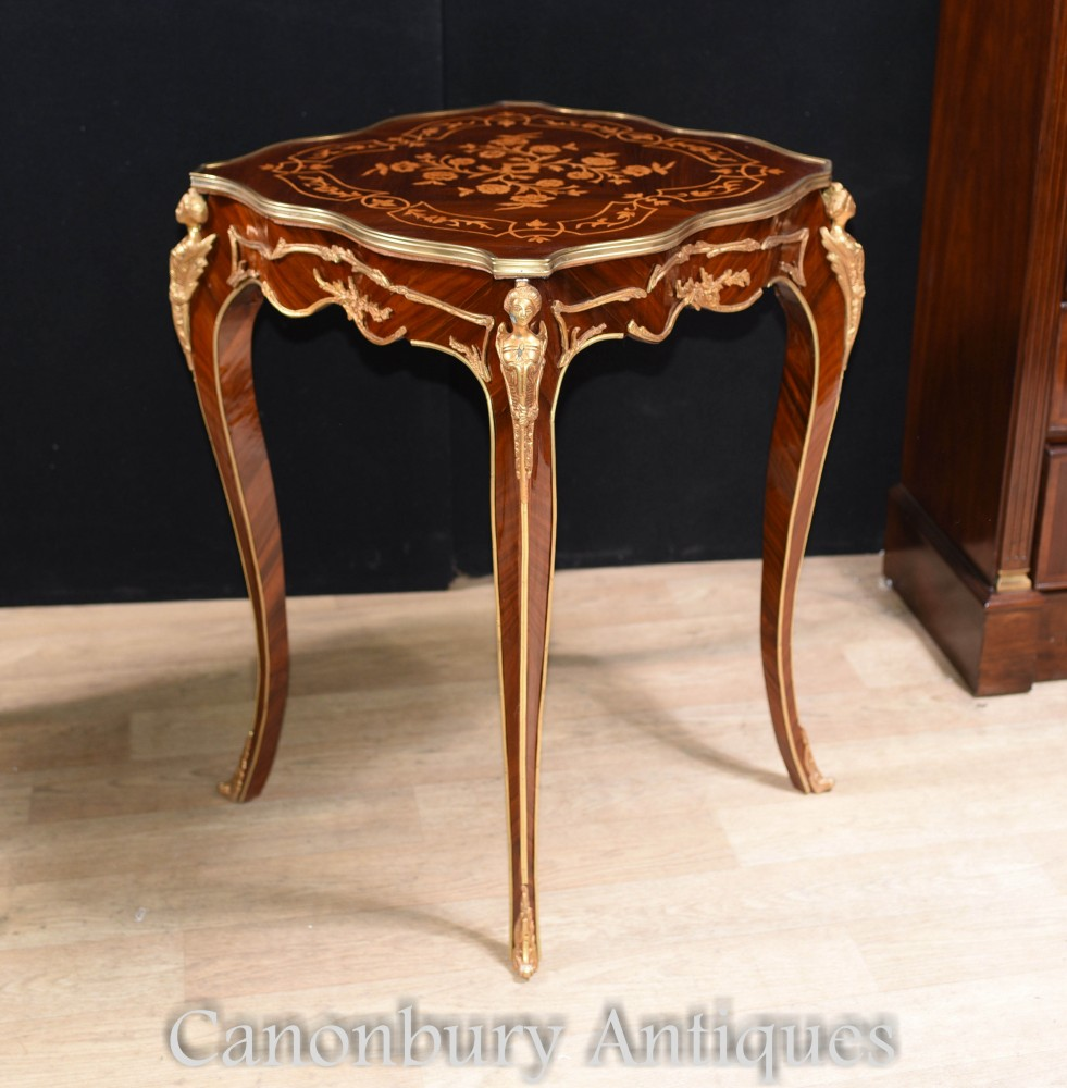 louis xvi side tables pair french end table. Black Bedroom Furniture Sets. Home Design Ideas