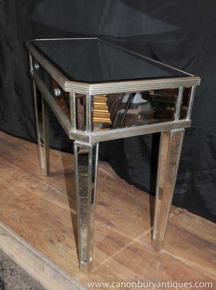 Mirrored Hall Console Table Side Tables Mirror Deco Furniture Similar Products