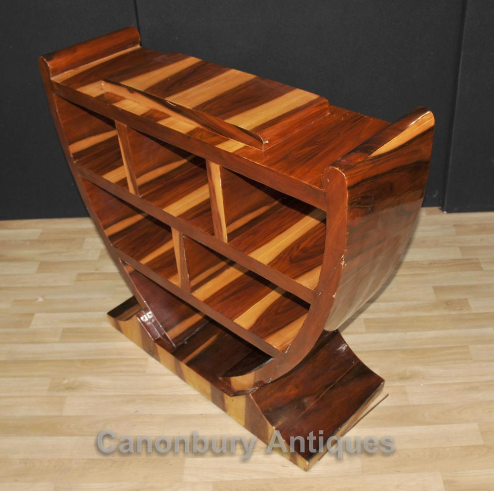 Pair Art Deco Bookcases Shelf Units Retro Furniture # Muebles Google Translate