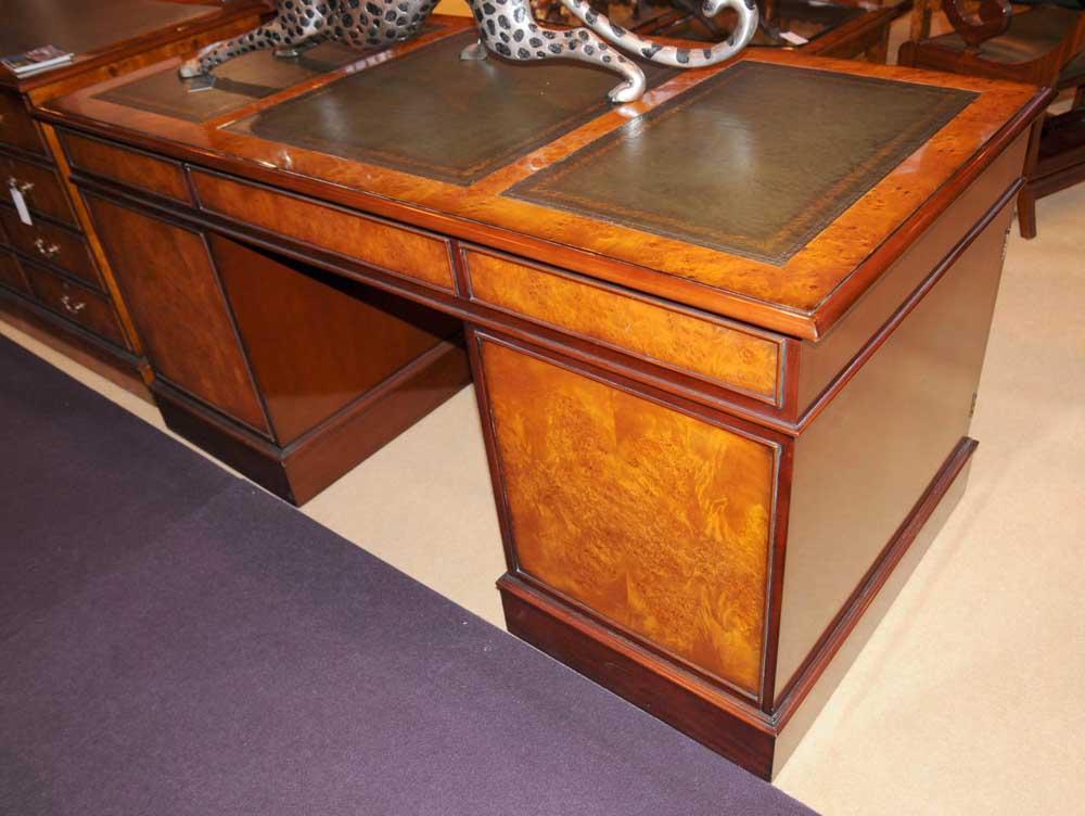 Antique Partners Desk Blue Desk Lamp