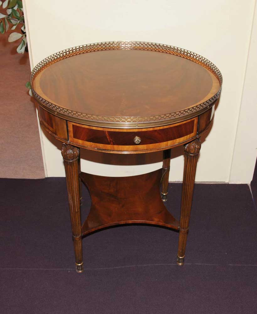 Regency Mahogany Side Table Cocktail End Tables