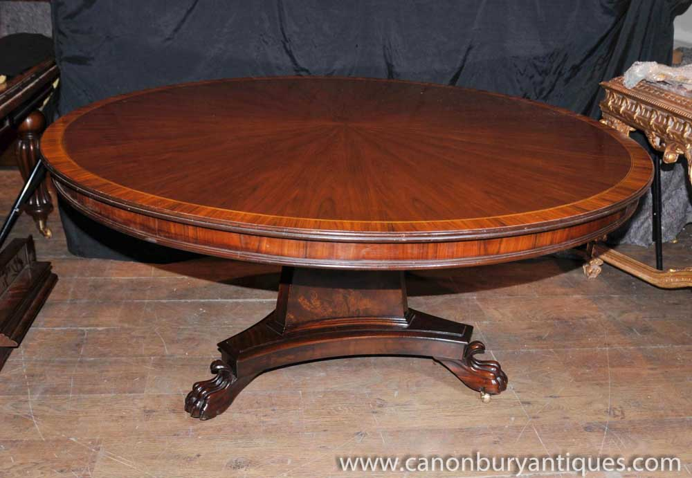 Regency Round Centre Table Dining Tables Rosewood : Regency20Round20Centre20Table20Dining20Tables20Rosewood 1395100100 product 74 from www.canonburyantiques.com size 1000 x 691 jpeg 81kB