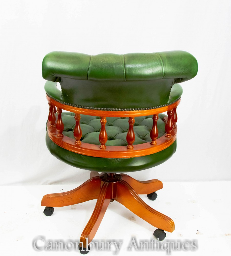 Leather Dining Room Captains Chairs
