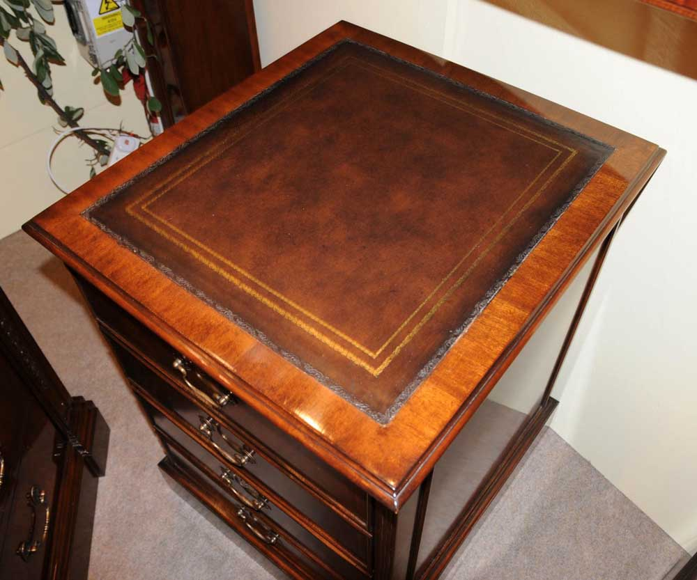 Superior Victorian Mahogany Office File Cabinet Drawer Chest Filing