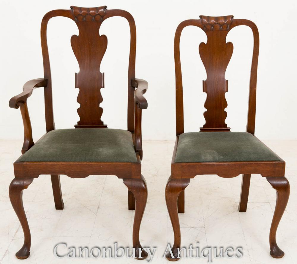 Victorian Dining Table: Victorian Dining Set Mahogany Tables And Chairs 1900
