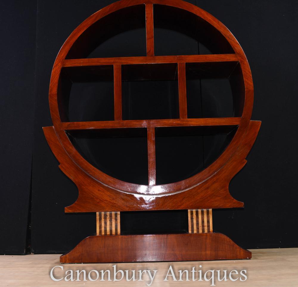 Vintage Art Deco Bookcase Shelf Unit 1920s Furniture