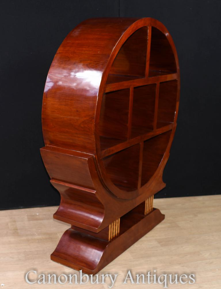 Vintage Art Deco Bookcase Shelf Unit 1920s Furniture