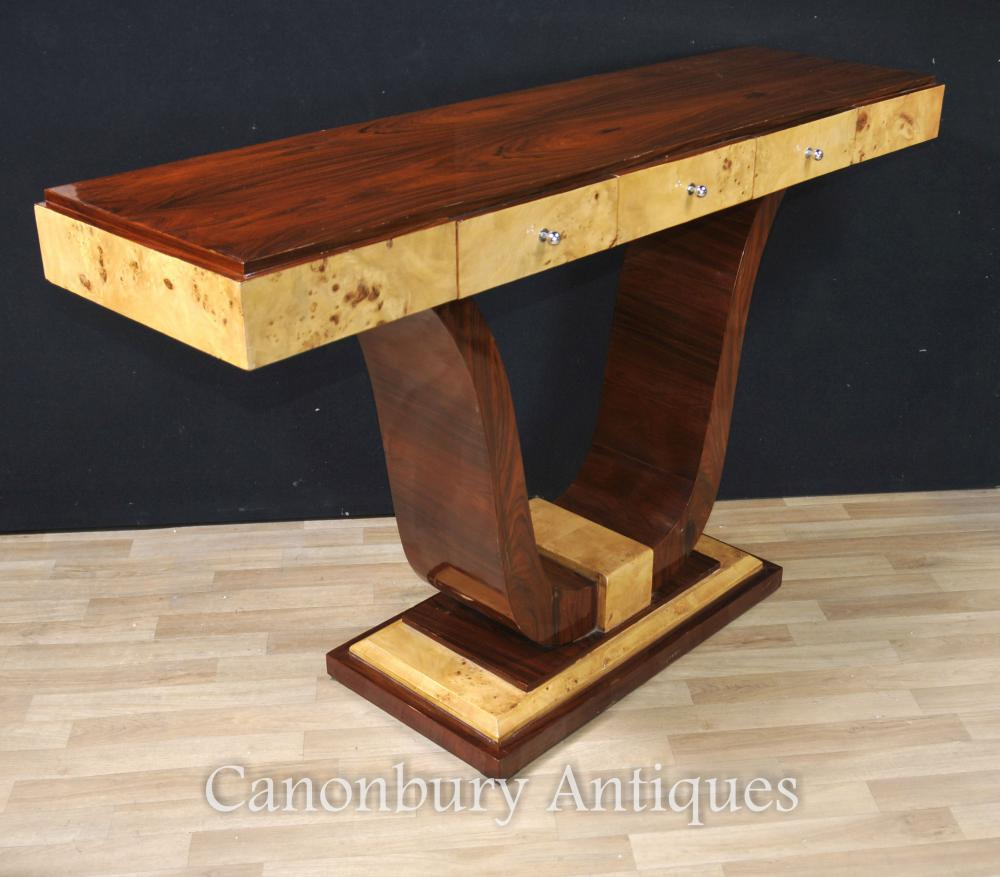 Vintage Art Deco Console Table 1920s Interiors Furniture