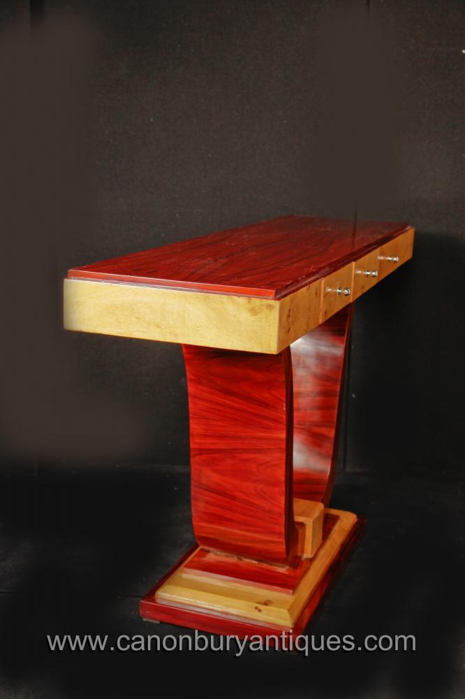 Vintage art deco console table 1920s interiors furniture for Table de nuit art deco