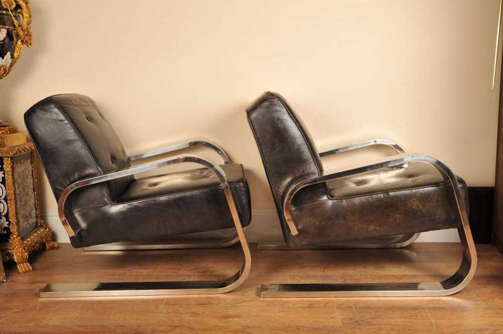 Art Deco Arm Chairs Armchairs Modernist Retro