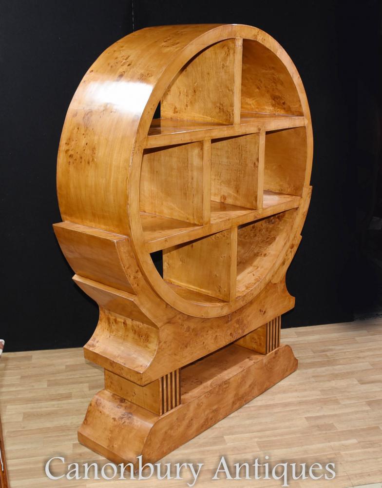 art deco bookcase shelf display cabinet 1920s furniture. Black Bedroom Furniture Sets. Home Design Ideas