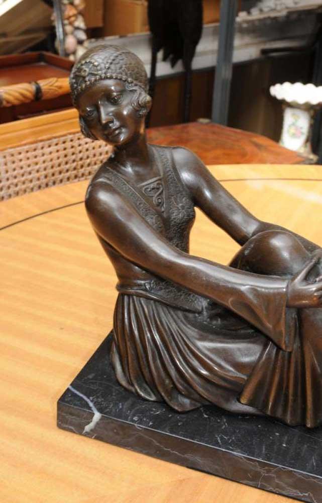 Greyhound Shipping Quote >> Art Deco Bronze Figurine Statue Greyhound Dog