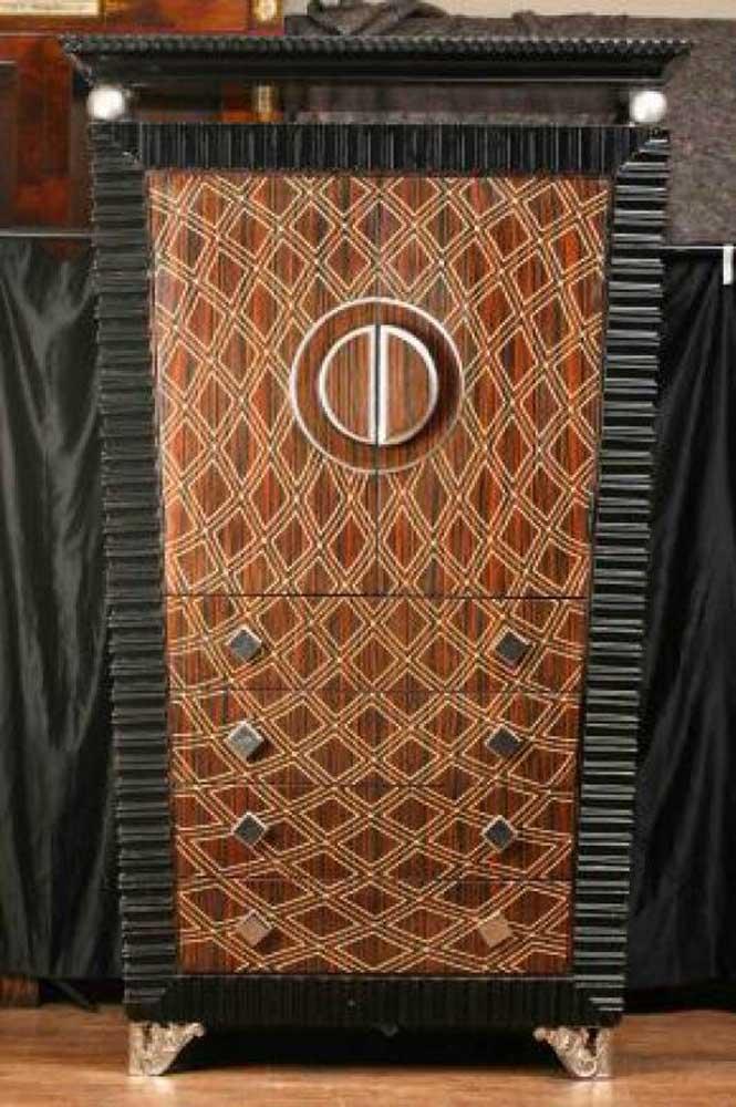 art deco cabinet chest cupboard armoire 1920s furniture. Black Bedroom Furniture Sets. Home Design Ideas