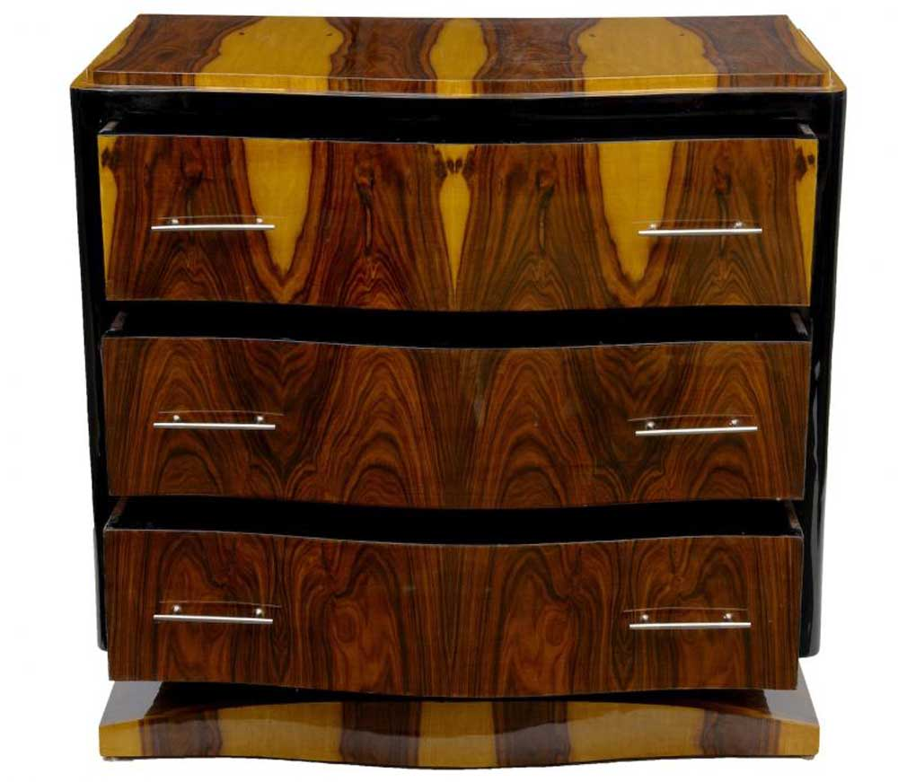 Art Deco Chest Drawers Commode Chests Furniture Vintage