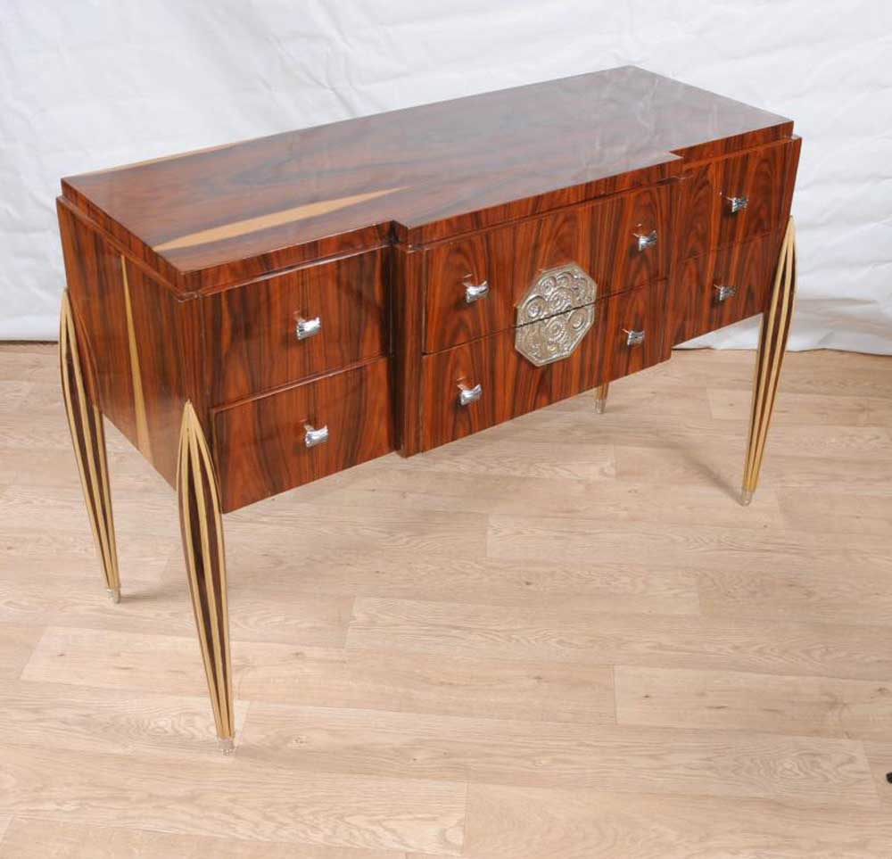 Dining Room Chest Of Drawers: Art Deco Chest Drawers Sideboard Buffet Server Dining