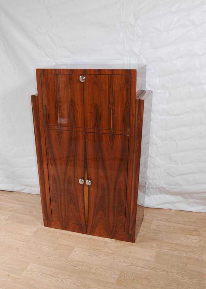 Art Deco Cocktail Drinks Cabinet 1920s Vintage Furniture