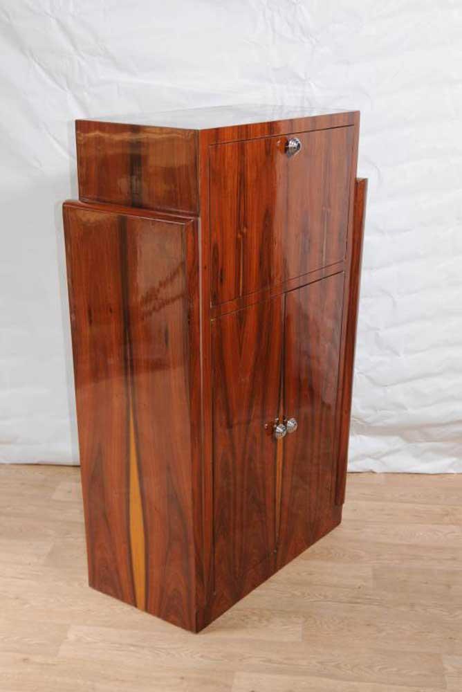 Art Deco Drinks Cabinet Cocktail 1920s Vintage Furniture