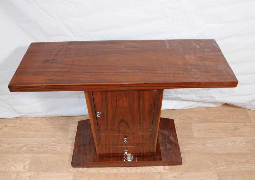 art deco console table cabinet chest hall tables 1920s furniture. Black Bedroom Furniture Sets. Home Design Ideas