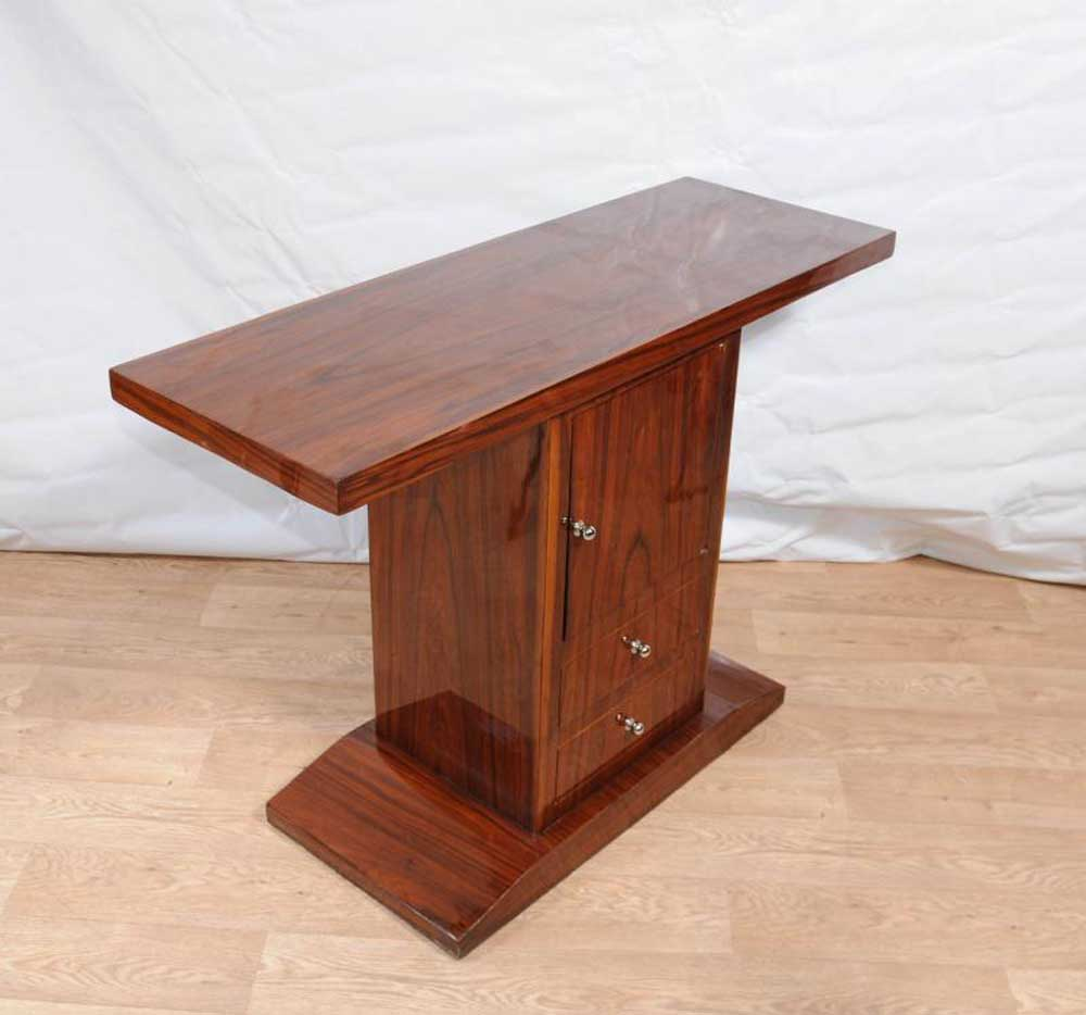 Art Deco Console Table Cabinet Chest Hall Tables 1920s