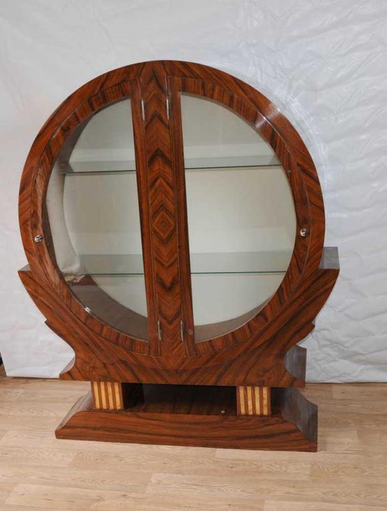 art deco display cabinet bookcase bijouterie 1920s furniture. Black Bedroom Furniture Sets. Home Design Ideas