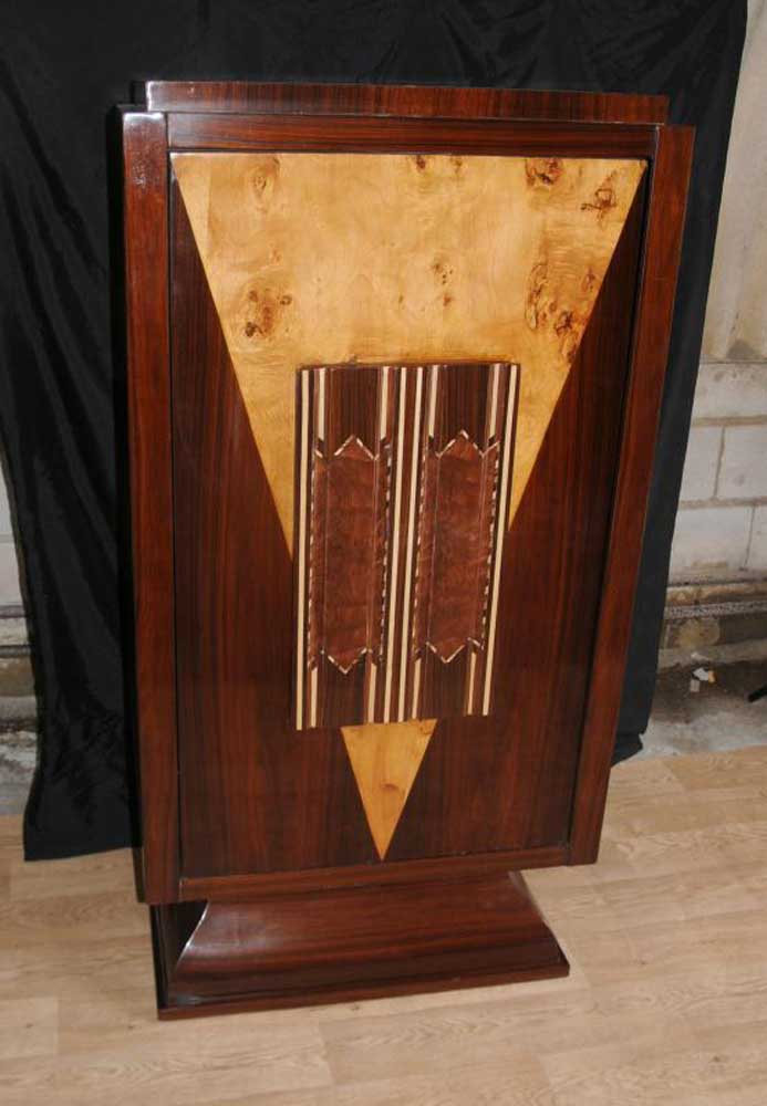 Details about Art Deco Drinks Cabinet 1920s Cocktail Cabinets Furniture