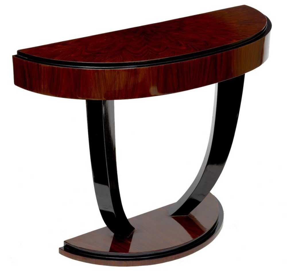 Art deco modernist console table modern retro furniture for Retro modern furniture
