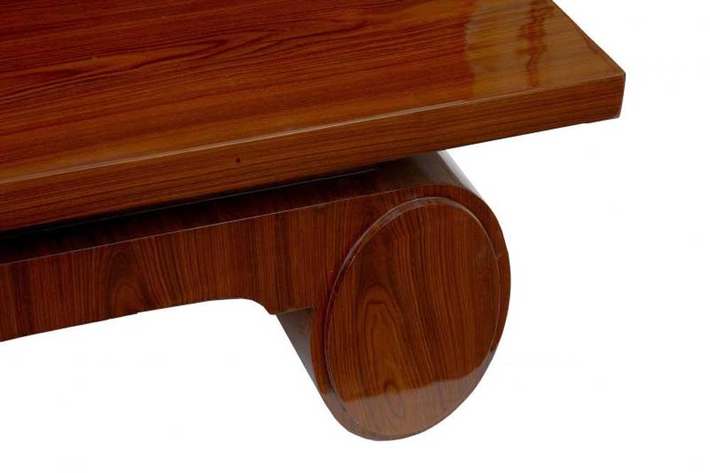 Art Deco Coffee Table Rosewood 1920s Vintage Furniture