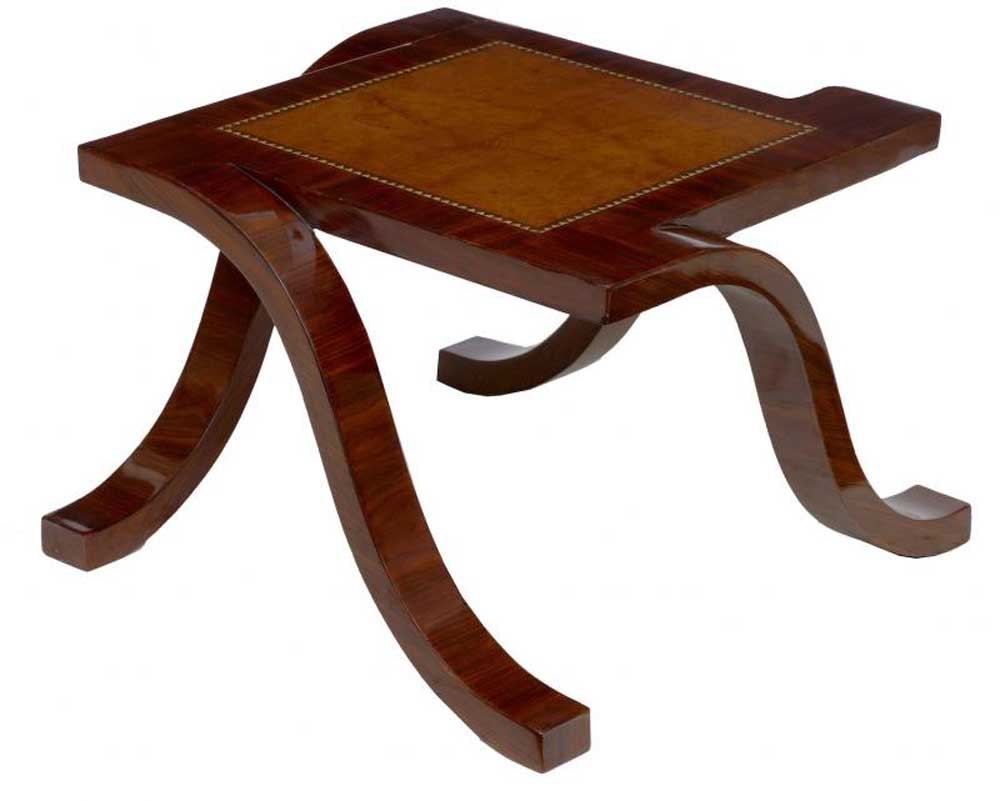 Art Deco Rosewood Coffee Table Cocktail Side Tables