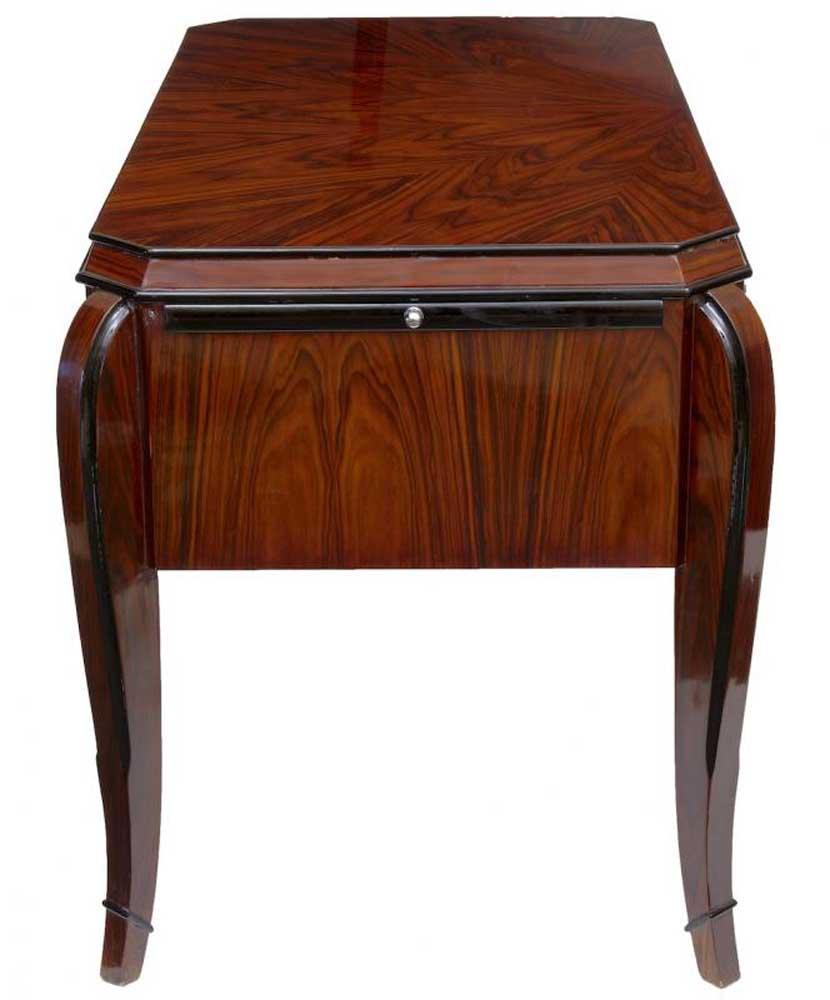 art deco writing table desk dressing tables bureau office furniture. Black Bedroom Furniture Sets. Home Design Ideas