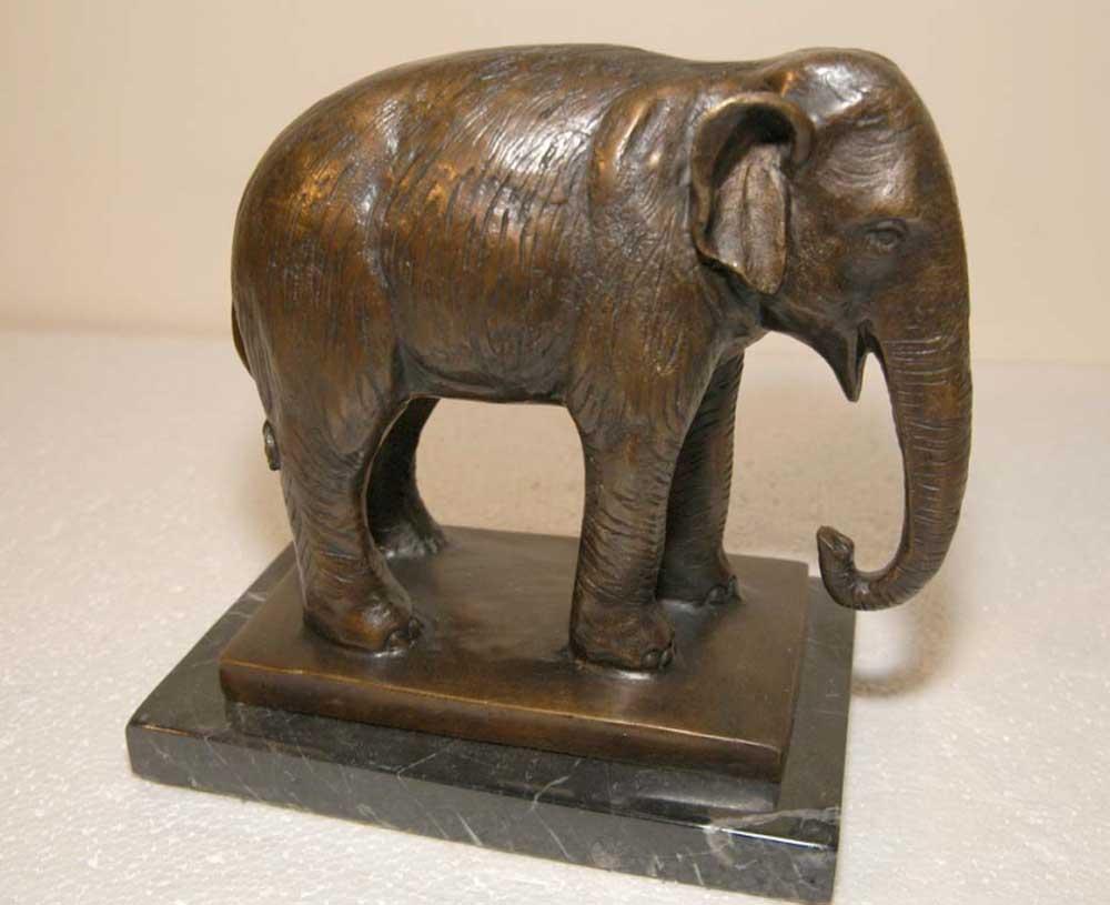 Bronze Casting Elephant Sculpture Gt Elephants Animals