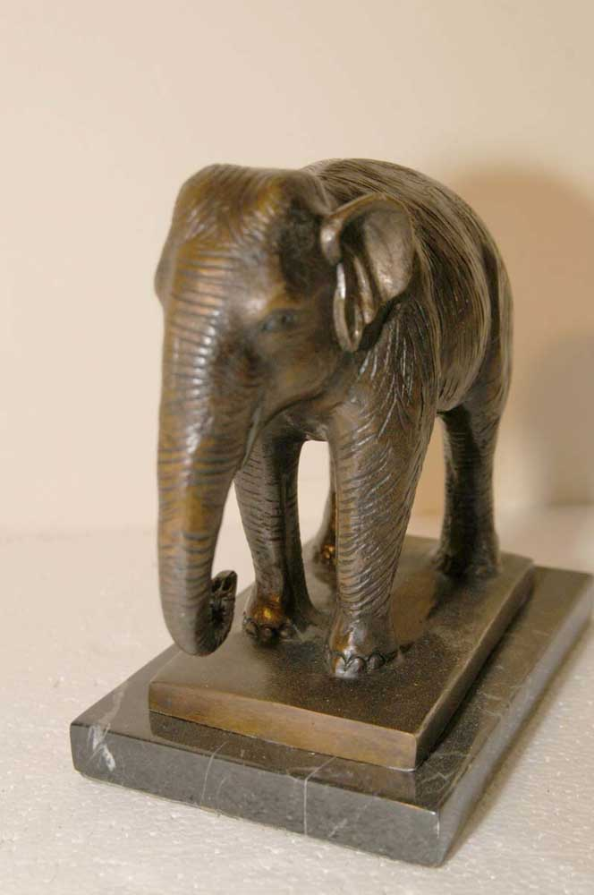 Bronze Casting Elephant Sculpture > Elephants Animals