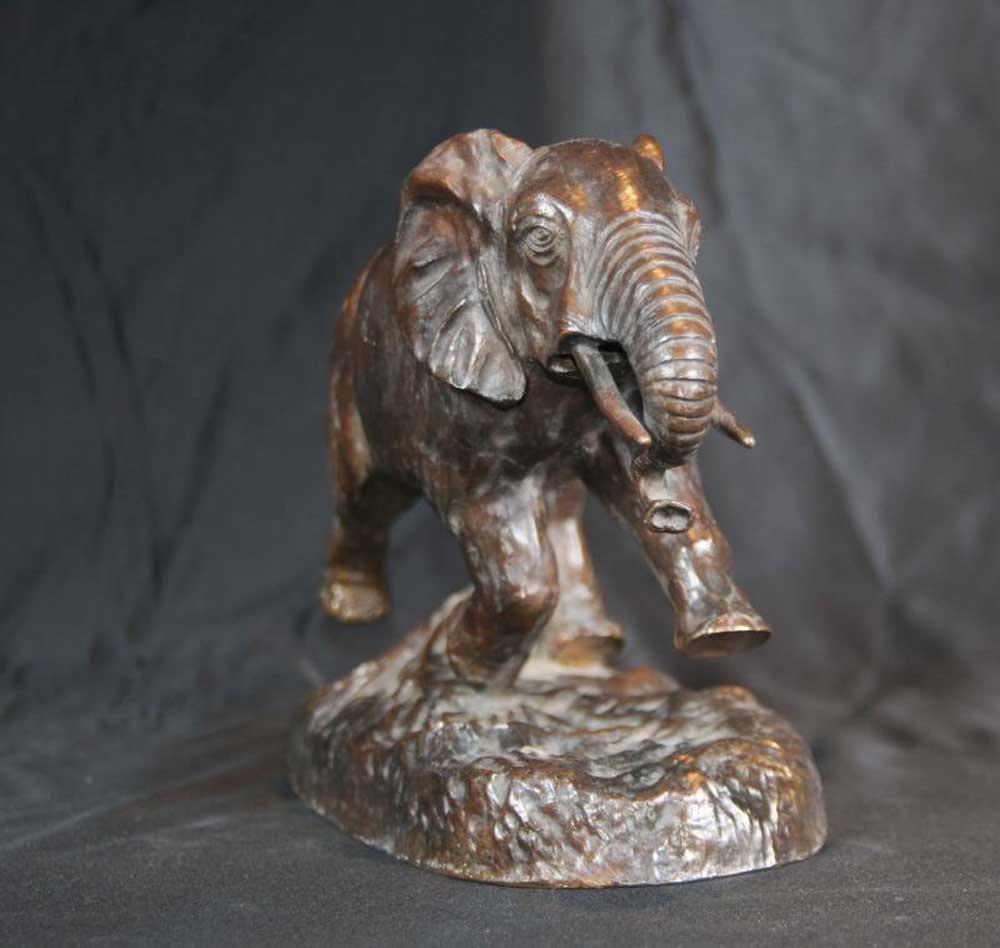 Bronze Casting Elephant Statue Animals
