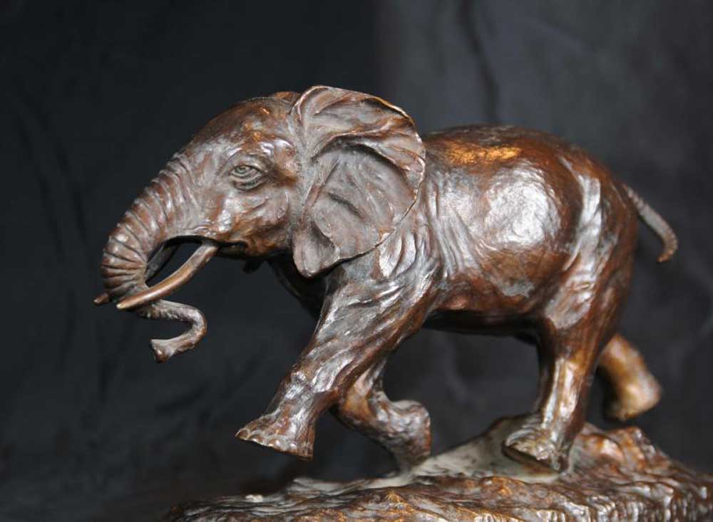 Joe For Oil >> Bronze Casting Elephant Statue Animals
