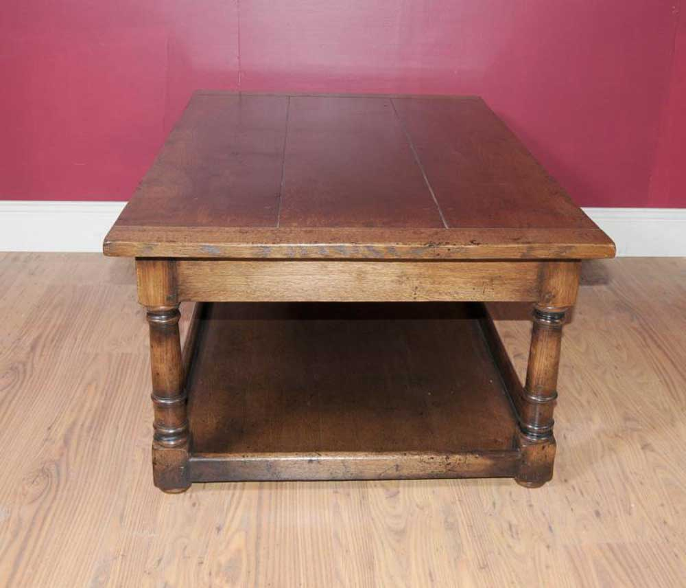 Country Oaks Apartments: Country Oak Oblong Coffee Table Farmhouse