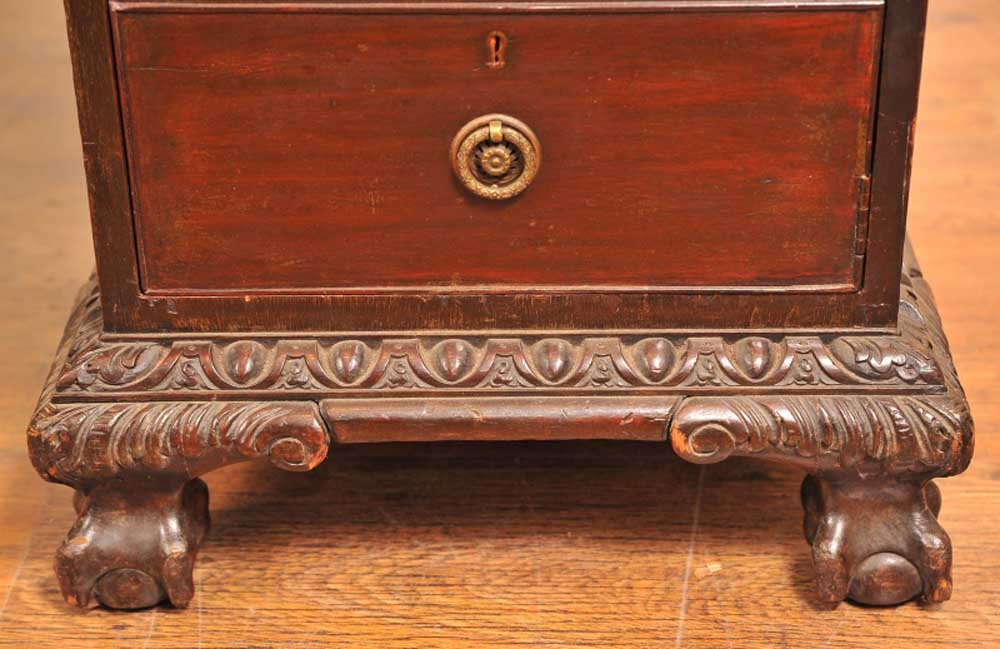Additional Images - English Antique Victorian Pedestal Desk Desks Writing Table EBay