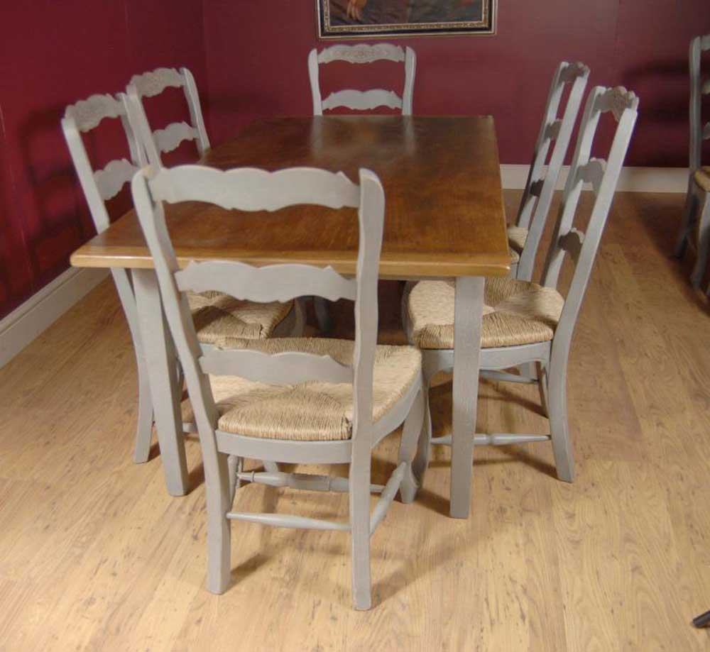 English Farmhouse Painted Ladderback Chair Amp Kitchen
