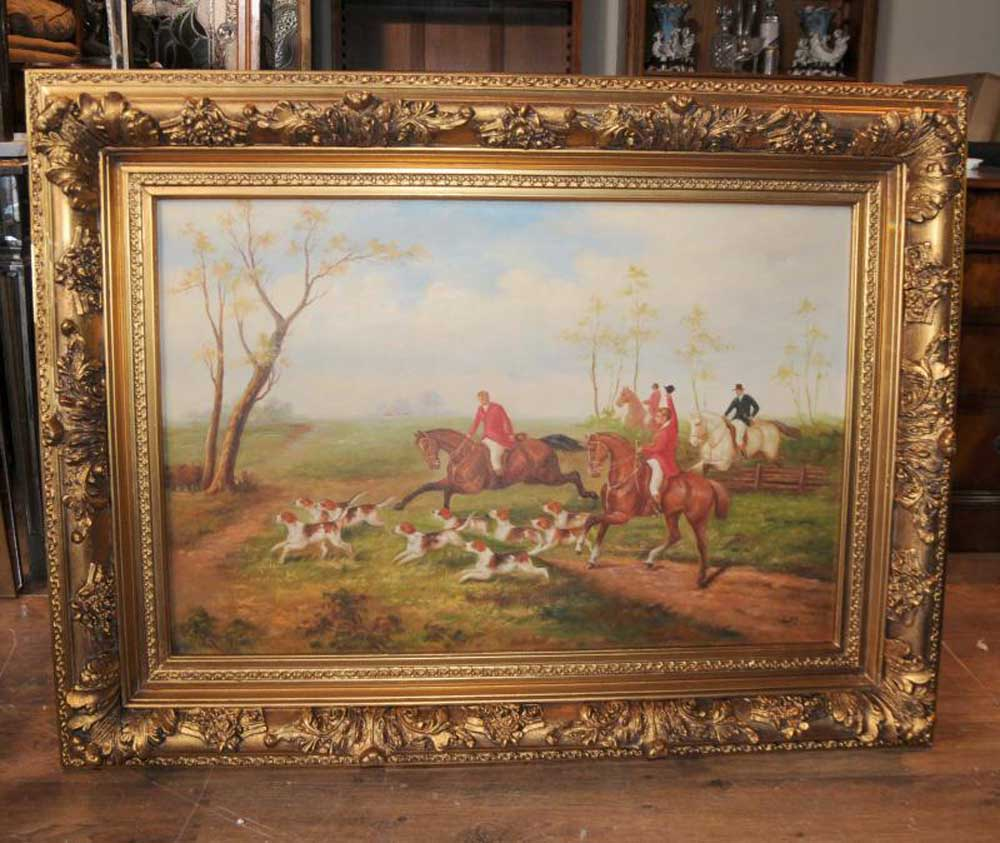 English Fox Hunt Oil Painting Scene Horse Jocked Victorian Art Iphone Wallpapers Free Beautiful  HD Wallpapers, Images Over 1000+ [getprihce.gq]