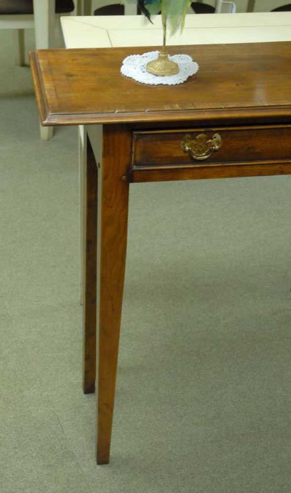 English georgian classic sideboard console table cherry wood