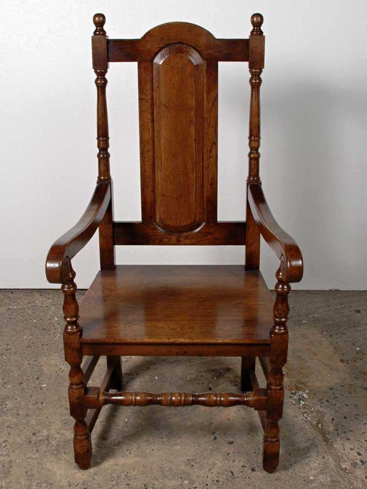 English Gothic Farmhouse Refectory Table Amp Chair Set