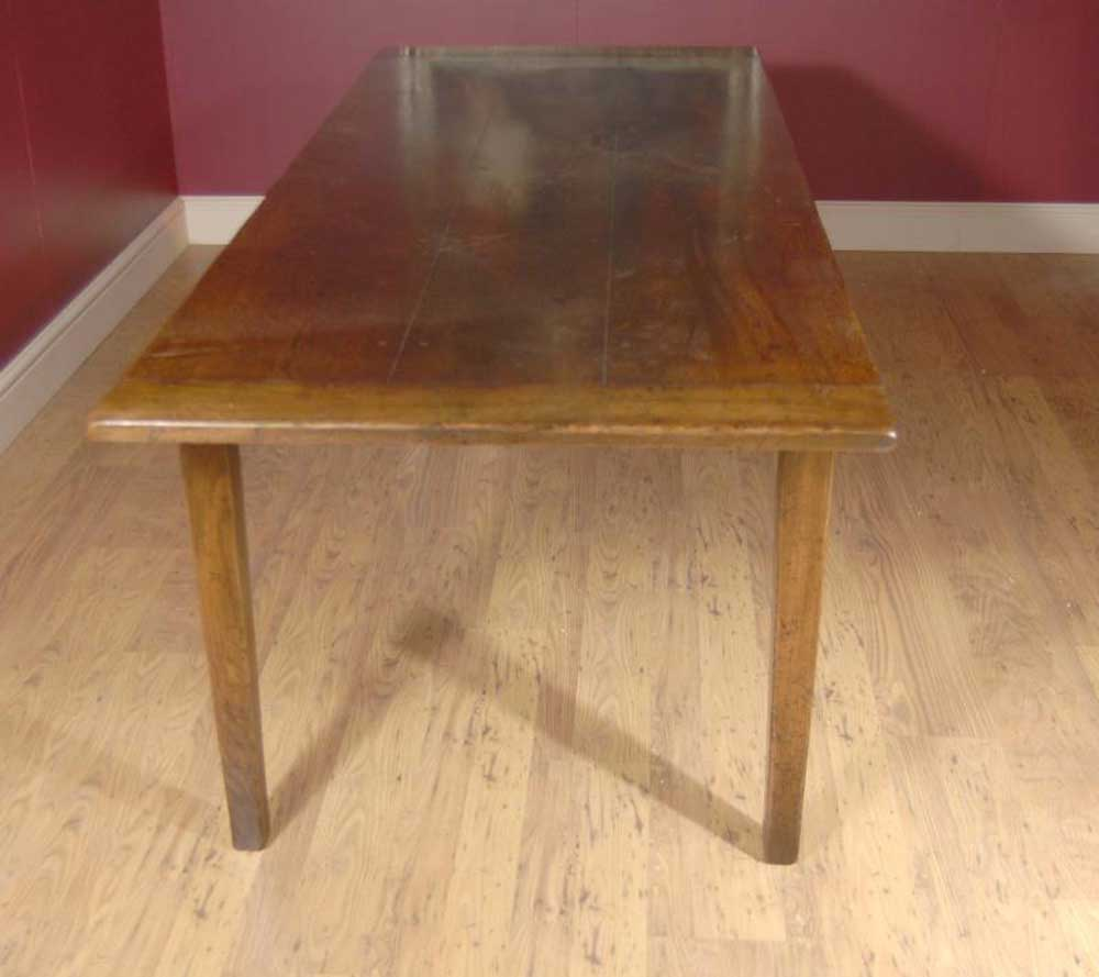 Oak Dining Set Ladderback Chairs Amp Refectory Table Suite