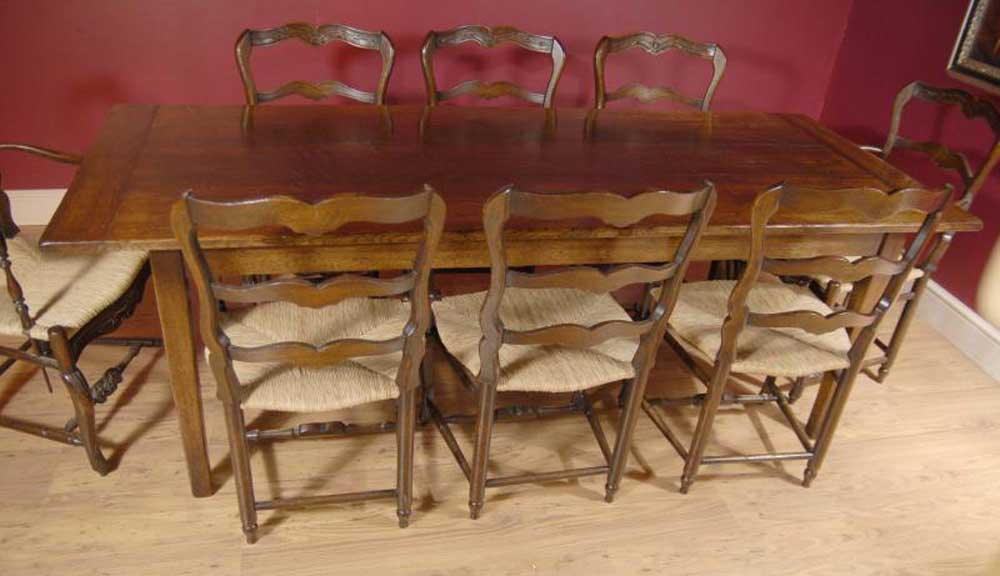 English Oak Ladderback Chair amp Refectory Table Set eBay : english oak ladderback chair and refectory table set dining 1264973181 product 17 from www.ebay.co.uk size 1000 x 576 jpeg 62kB