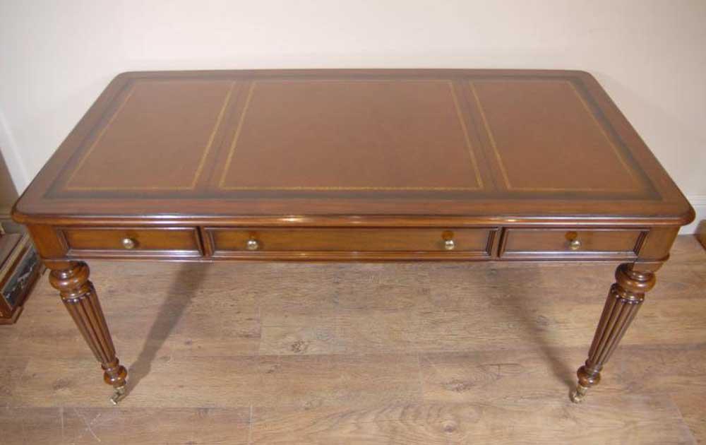 english victorian gillows writing desk table bureau. Black Bedroom Furniture Sets. Home Design Ideas