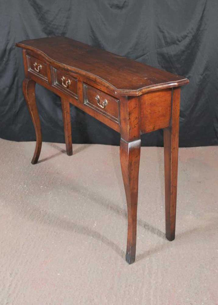 Farmhouse sideboard server cherry wood buffet