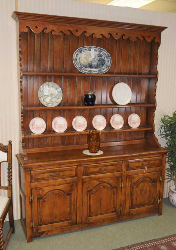 Farmhouse Welsh Dresser Fruitwood Dressers Kitchen Cabinet